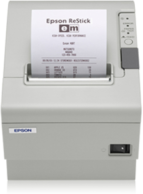 Epson TM-T88V (031): Serial, w/o PS, ECW | Dodax.ch