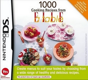 Nintendo 1000 Cooking Recipes from ELLE à table, DS | Dodax.com