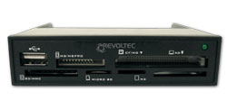 Revoltec RZ061 Internal Black card reader | Dodax.ca