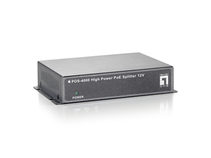 LevelOne POS-4000: High Power PoE Splitter | Dodax.ch