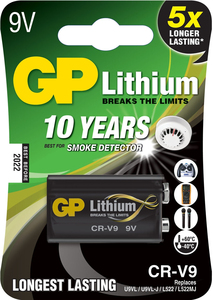 GP Batteries Lithium CR-V9