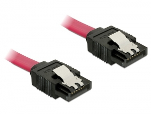 DeLOCK - Cable SATA 0.7m Male/Male (82678) | Dodax.at