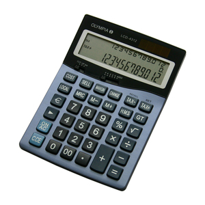 Olympia LCD 4312 Desktop Basic calculator | Dodax.com