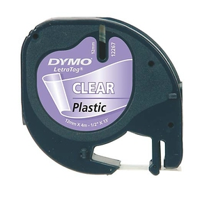 DYMO 12mm LetraTAG Plastic tape label-making tape | Dodax.ca