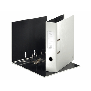 Leitz 180° WOW Lever Arch File - pearl white | Dodax.com