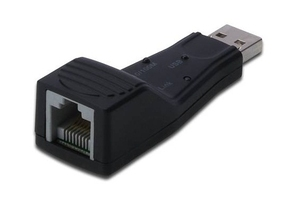 Digitus Fast Ethernet USB 2.0 Adapter Ethernet 100Mbit/s networking card | Dodax.co.uk
