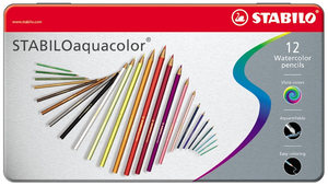 Stabilo Aquacolor 12pc(s) colour pencil | Dodax.co.jp