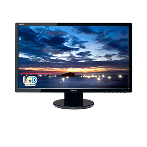 "ASUS - Full HD Monitor 23.6"", Black (VE247H) 