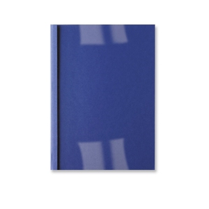 GBC ThermaBind Leathergrain Cover 3mm Royal Blue (100) | Dodax.ch