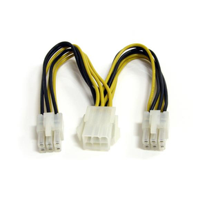 StarTech.com 15cm 6pin PCI Express Splitter Kabel | Dodax.at