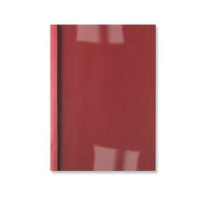 GBC ThermaBind Leathergrain Cover 4mm Red (100) | Dodax.ch