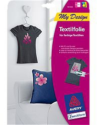 Avery MD1003 4Blätter Tintenstrahl T-Shirt Transfer-Folie | Dodax.at