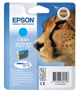 Tinte Epson C13T071240 cyan, 5.5ml | Dodax.at