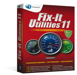 Avanquest Fix-It Utilities 11 Professional | Dodax.co.uk