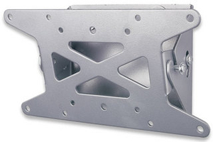 Manhattan 423717 Silver flat panel wall mount | Dodax.ca