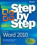 Microsoft Word 2010 Step by Step | Dodax.co.uk