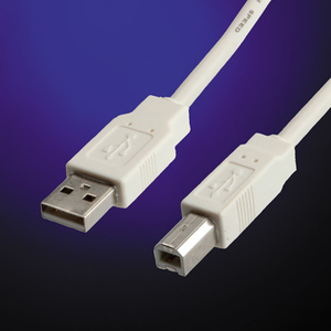 Value USB 2.0 Kabel, Typ A-B 1,8m | Dodax.at