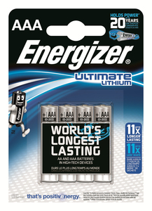 Energizer ENLITHIUMAAAP4 | Dodax.co.jp