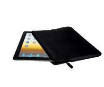 "V7 Slim Sleeve per tablet PC fino a 10,1"" e iPad – Nero 
