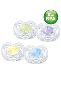 Philips AVENT Contemporary Freeflow Soother SCF180/23 | Dodax.co.uk