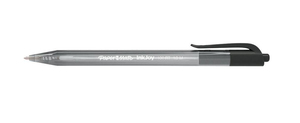 Papermate InkJoy 100 RT Clip-on retractable ballpoint pen Medium Black 20pc(s) | Dodax.ca