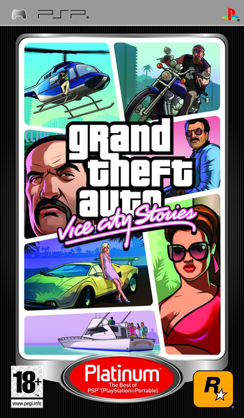 Take-Two Interactive GTA Vice City Stories PSP | Dodax.co.jp