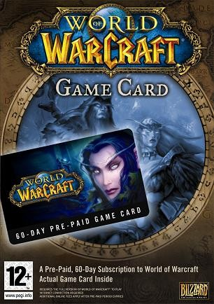 Blizzard World of Warcraft: 60-Day Pre-Paid Game Card | Dodax.ch