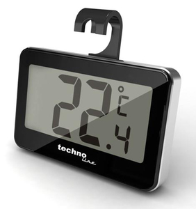 Technoline WS 7012 outdoor Electronic environment thermometer Black | Dodax.co.uk