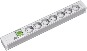 Image of 333.600 - Socket outlet strip grey 333.600