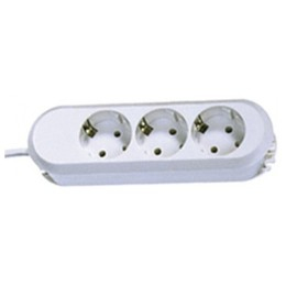 Image of 387.270 - Socket outlet strip white 387.270