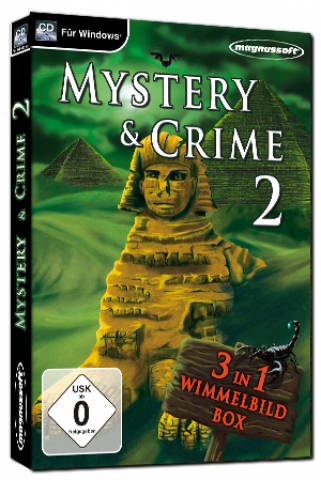 Mystery and Crime 2, 3 in 1 Wimmelbildbox, CD-ROM   Dodax.at