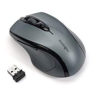 Kensington Pro Fit® Mid-Size Wireless Mouse - Graphite Grey | Dodax.co.uk