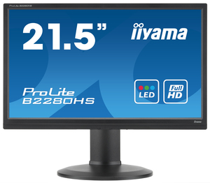 "iiyama ProLite B2280HS-B1 21.5"" Black Full HD 