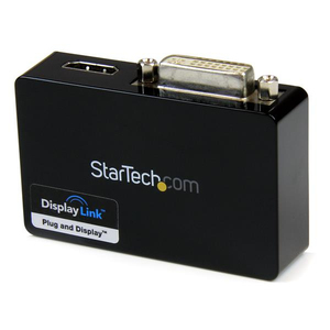 StarTech.com USB 3.0 auf HDMI / DVI Video Adapter - Externe Dual Multi Monitor Grafikkarte - 1920x1200 | Dodax.ch