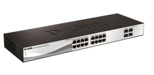 Image of D-Link 16-Port 10/100/1000Mbps + 4-Port SFP