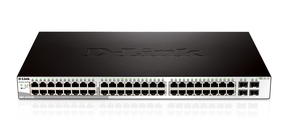Image of D-Link 48-Port 10/100/1000Mbps + 4-Port SFP.