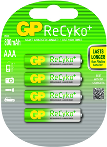 GP Batteries ReCyko+ AAA | Dodax.at