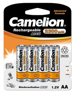 Camelion Rechargeable Batteries (NH-AA2300BP4) | Dodax.at