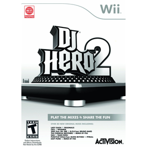 DJ Hero 2 Italian Edition; Software Only - Wii | Dodax.co.uk