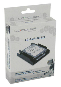 LC-Power LC-ADA-35-225 drive bay panel | Dodax.ca
