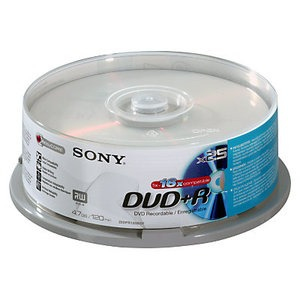 Sony DVD+R 16x, 25 | Dodax.at