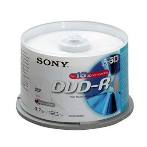 Sony DVD-R 16x, 50 | Dodax.at