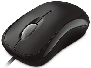Microsoft Basic Optical Mouse black | Dodax.at