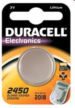 Duracell - Non-Rechargeable Battery (CR2450 3V) | Dodax.co.uk