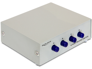 Delock DB9 Switchbox 4Port manuell | Dodax.ch