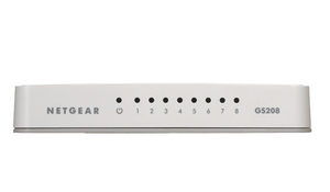 Netgear GS208: 8 Port Switch | Dodax.at