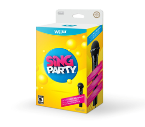 Sing Party Including Microphone German Edition - Wii U | Dodax.ch