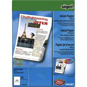 Sigel IP 619 A4 (210×297 mm) Matte White printing paper | Dodax.co.jp