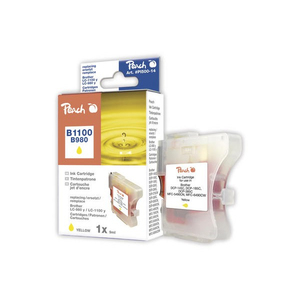 Peach PI500-14 Yellow ink cartridge | Dodax.ca