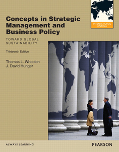 Prentice Hall Concepts in Strategic Management and Business Policy | Dodax.ch